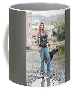 Stephanie Guitar Standing 1 Coffee Mug