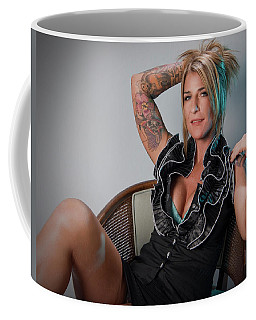 Stephanie Sitting 4 Coffee Mug