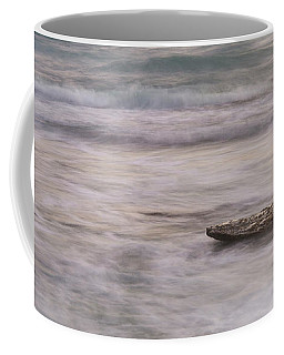 Coffee Mug featuring the photograph Stepping Stone by Alex Lapidus