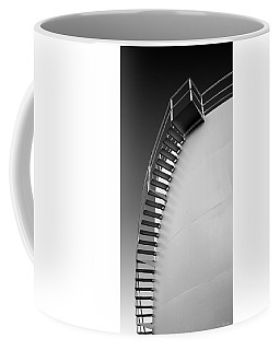 Stepping Up Coffee Mug by Joe Bonita