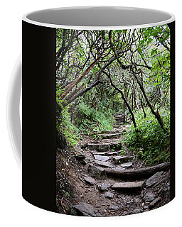 Steps Into The Enchanted Forest Coffee Mug