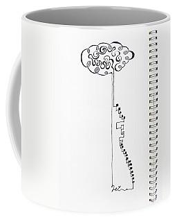Steps To The Clouds Coffee Mug