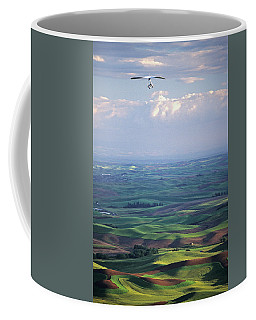 Steptoe Butte Handglider Coffee Mug