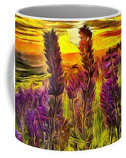 Steptoe Lupine  Coffee Mug