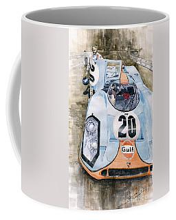 Steve Mcqueens Porsche 917k Le Mans Coffee Mug