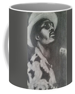 Coffee Mug featuring the painting Stevie by Amelie Simmons