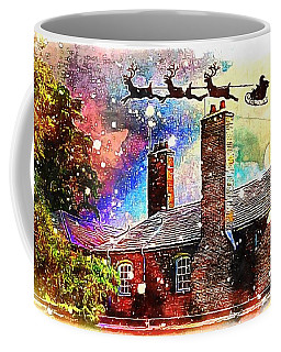 Stevie Mouse And Emmy Spend Christmas At An English Country House Coffee Mug