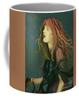 Stevie Nicks Coffee Mug by Carrie Joy Byrnes