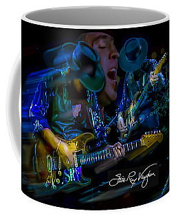 Stevie Ray Vaughan - Double Trouble Coffee Mug