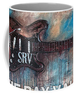 Stevie Ray Vaughan Double Trouble Coffee Mug