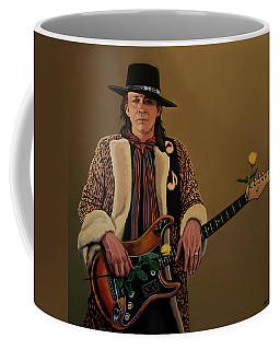 Stevie Ray Vaughan 2 Coffee Mug by Paul Meijering