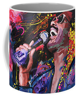 Stevie Wonder Coffee Mug by Richard Day