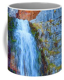 Coffee Mug featuring the photograph Stewart Falls by David Millenheft