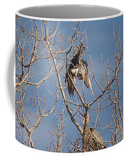 Coffee Mug featuring the photograph Stick Acceptance by David Bearden