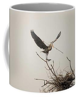 Coffee Mug featuring the photograph Stick Man by David Bearden