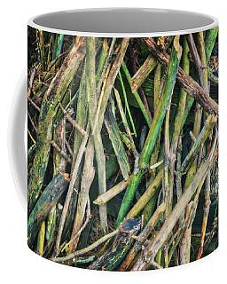 Stick Pile At Retzer Nature Center Coffee Mug by Jennifer Rondinelli Reilly - Fine Art Photography