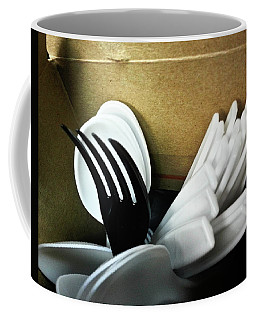 Coffee Mug featuring the photograph Stickin Out by Robert Knight