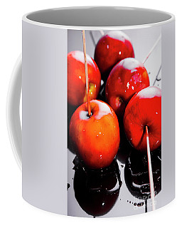 Sticky Red Toffee Apple Childhood Treat Coffee Mug