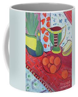Still Life After Matisse Coffee Mug