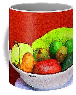 Still Life Art With Fruits Coffee Mug