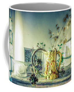 Coffee Mug featuring the photograph Still, Life Goes On by Wayne Sherriff