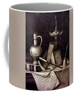 Still Life In Pencil Coffee Mug