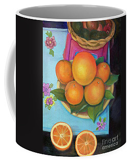 Still Life Oranges And Grapefruit Coffee Mug