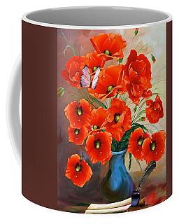 Still Life Poppies Coffee Mug