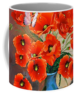 Still Life Poppies Coffee Mug
