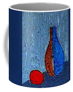 Coffee Mug featuring the painting Still Life Rainy Day by Bill OConnor