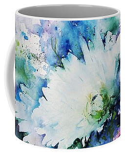 Still Life Rose Bouquet Watercolour Coffee Mug