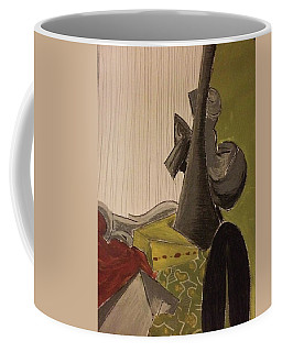 Still Life With A Black Horse- Cubism Coffee Mug