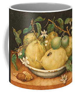 Still Life With A Bowl Of Citrons Coffee Mug