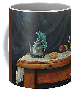 Still Life With A Chameleon Coffee Mug