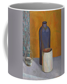 Still-life With Blue Bottle Coffee Mug