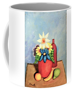 Still Life With Bottle Coffee Mug