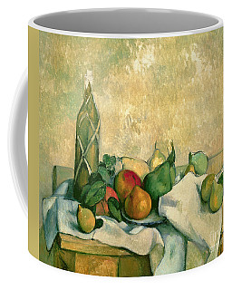 Still Life With Bottle Of Liqueur Coffee Mug