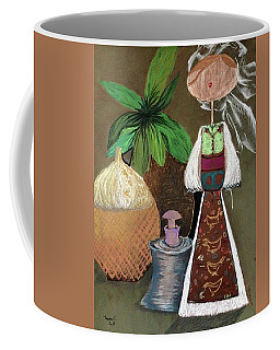 Still Life With Countru Girl Coffee Mug