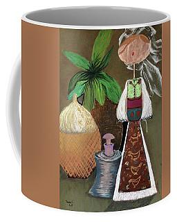 Still Life With Countru Girl Coffee Mug
