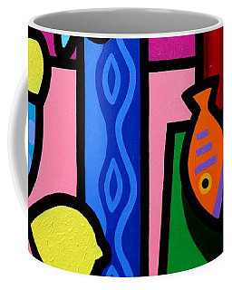 Still Life With Egyptian Curtain  Coffee Mug
