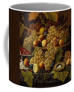 Still Life With Fruit, 1854 Coffee Mug