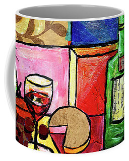 Still Life With Fruit And Wine #300 Coffee Mug