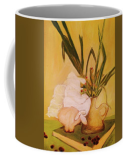 Still Life With Funny Sheep Coffee Mug