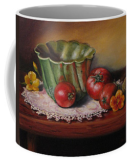 Still Life With Green Bowl Coffee Mug