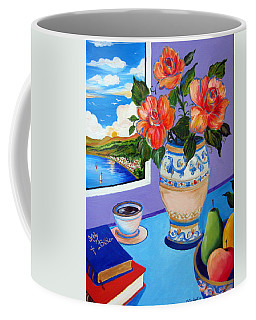 Still Life With Holy Bible Coffee Mug
