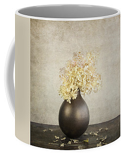 Coffee Mug featuring the photograph Still Life With Hydrangea by Theresa Tahara