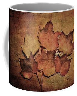 Still Life With Leaves Coffee Mug
