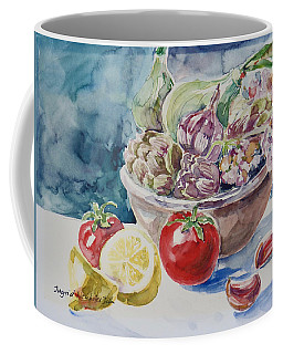 Still Life With Lemon Coffee Mug