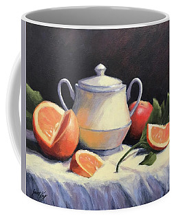 Still Life With Oranges Coffee Mug
