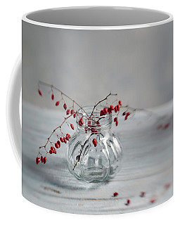 Still Life With Red Berries Coffee Mug